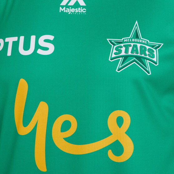 Melbourne Stars 2019 20 Mens Bbl Jersey Green M Rebel Sport