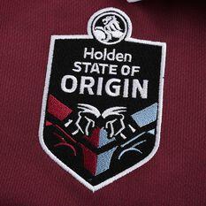 QLD Maroons State of Origin 2020 Mens Home Jersey, Maroon, rebel_hi-res