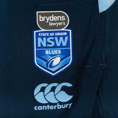 NSW State of Origin  Mens Gym Shorts Blue S, Blue, rebel_hi-res