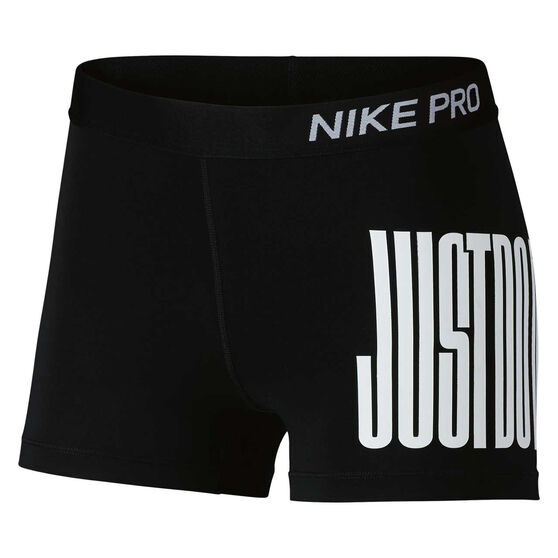 Nike Womens Pro Just Do It 3in Shorts, , rebel_hi-res