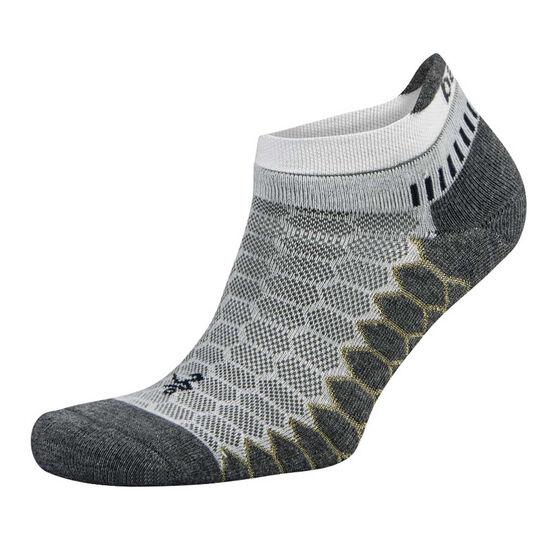Balega Silver No Show Socks, White, rebel_hi-res
