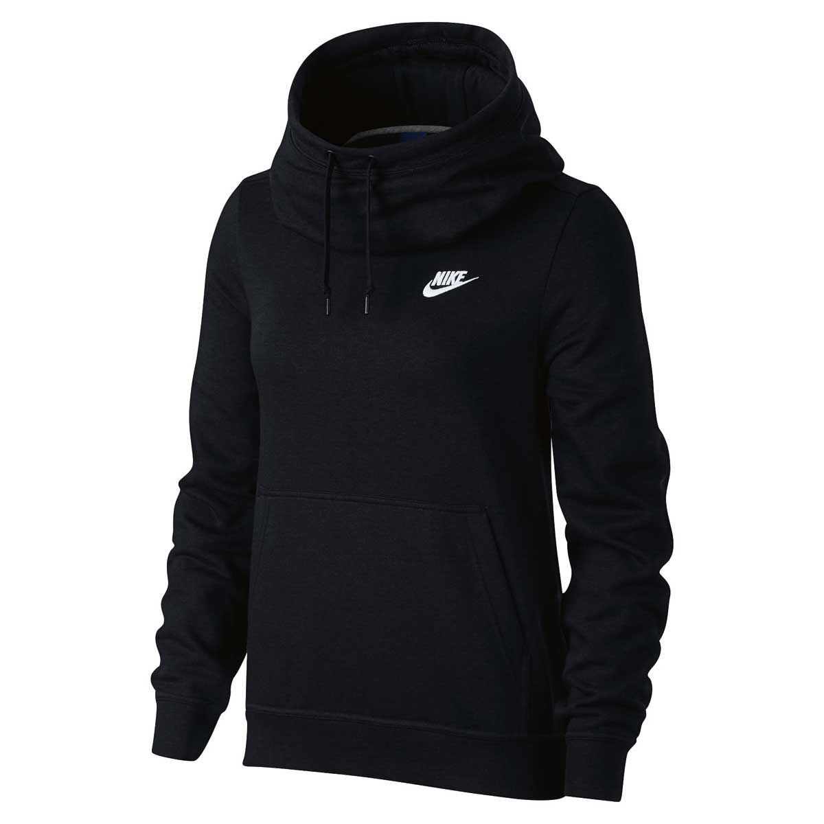 Adidas Men's Small Black Funnel Neck Hoodie