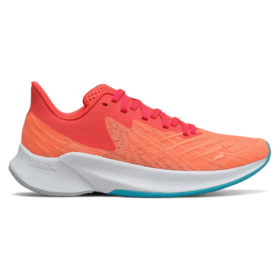 New Balance FuelCell Prism Womens Running Shoes, Red, rebel_hi-res
