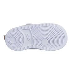 new styles e4db3 09853 ... Nike Court Borough Low Cut Toddlers Shoes White   Gold 2, White   Gold,