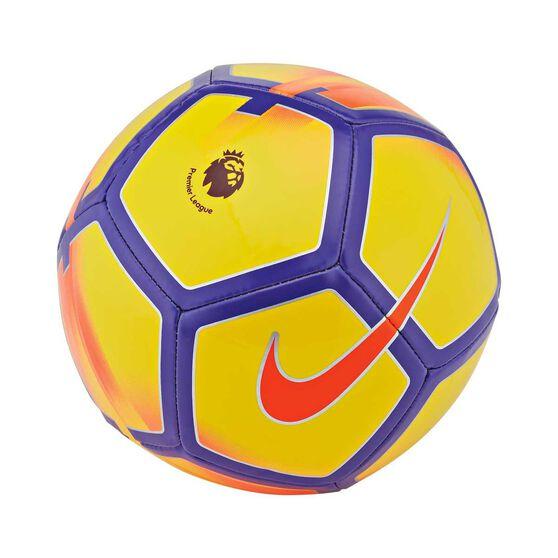 Nike Premier League Skills Soccer Ball Yellow / Purple 1, , rebel_hi-res