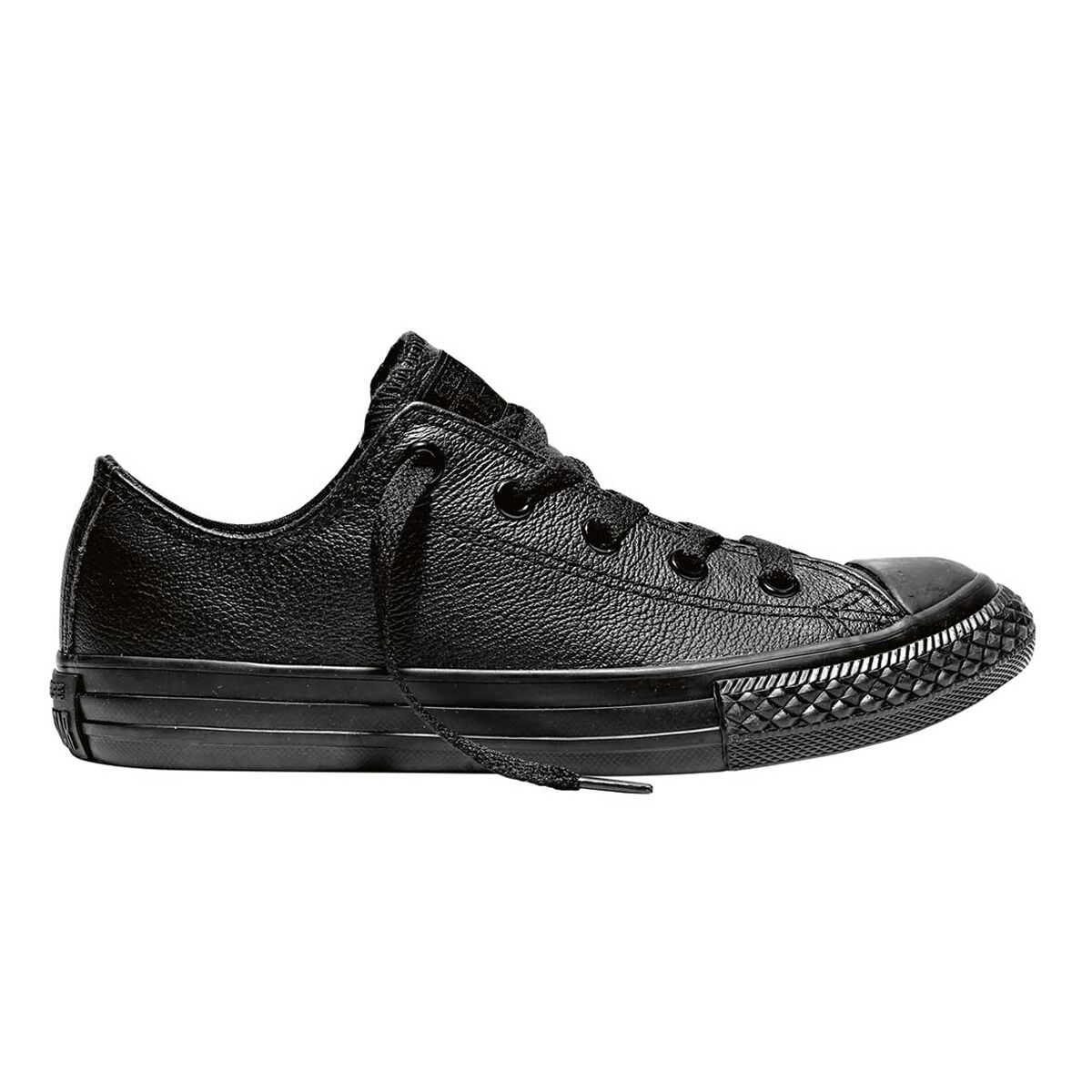 Chuck 11 Junior Star Leather Low Top Shoes Converse Black Us Taylor All Casual mvNwO8n0