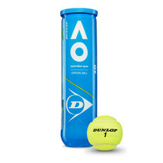 Dunlop  Australian Open Tennis Balls 4 Pack, , rebel_hi-res