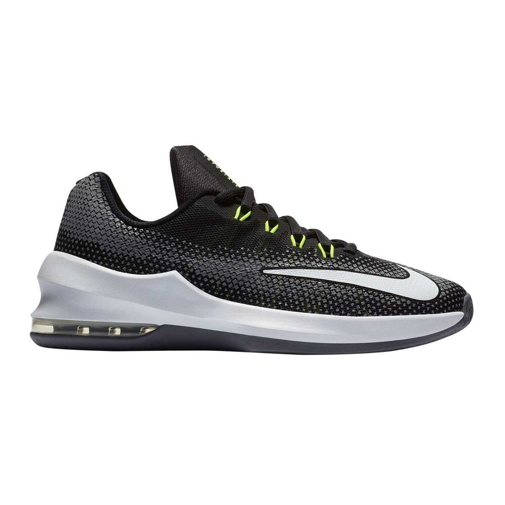 check out 669fd 81e32 Nike Air Max Infuriate Boys Basketball Shoes Black   White US 4, Black    White