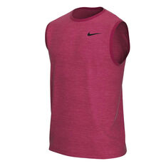 Nike Mens Dri-FIT Legend Training Tank, Red, rebel_hi-res