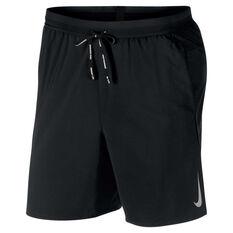Nike Mens Flex Stride 7in Running Shorts Black S, Black, rebel_hi-res