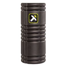 Trigger Point Grid Foam Roller Black 33cm, Black, rebel_hi-res