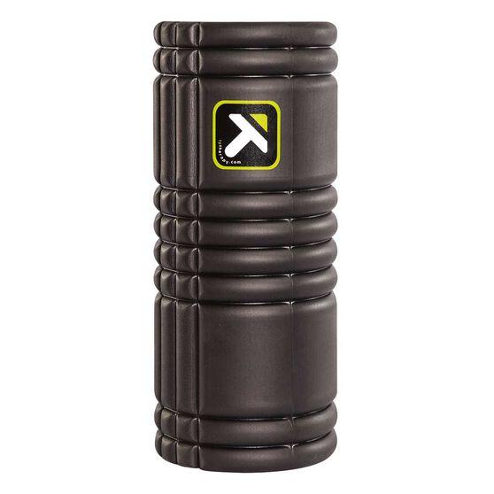 Trigger Point Grid Foam Roller Black 33cm, Black, rebel_hi-res