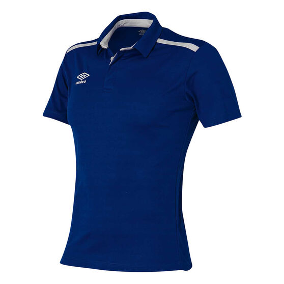 Umbro Velocity Polo Shirt, Navy, rebel_hi-res