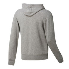 Brooklyn Nets Mens Fleece Hoodie Grey S, Grey, rebel_hi-res