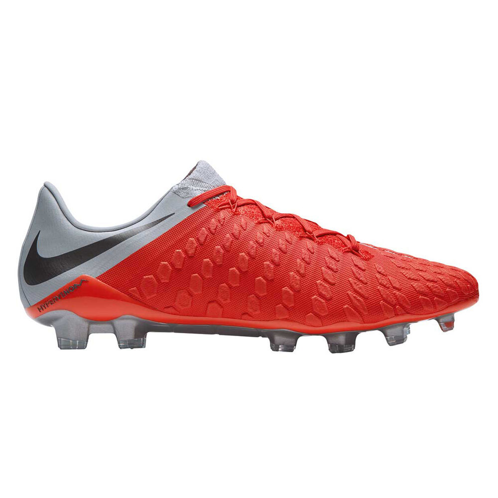 35acfbfcc79e Nike Hypervenom Phantom III Elite Mens Football Boots Red   Grey US ...