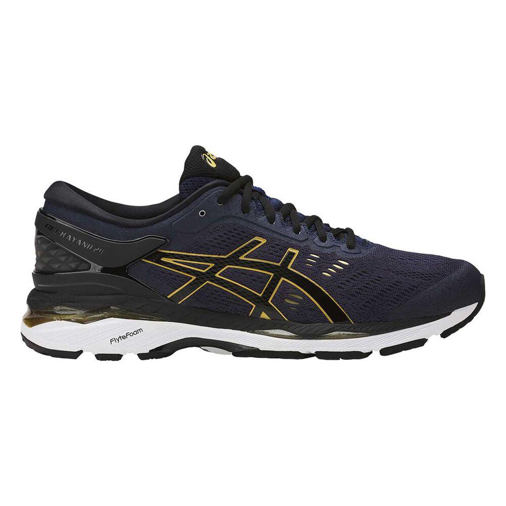 Asics GEL Kayano 24 Mens Running Shoes Blue   Black US 8.5  972625203132