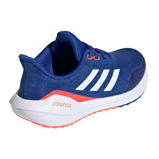 adidas EQ21 Run Kids Running Shoes, Blue/White, rebel_hi-res