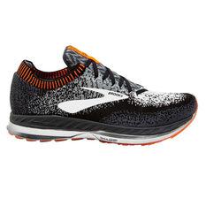 Brooks Bedlam Mens Running Shoes Black / Grey US 7, Black / Grey, rebel_hi-res