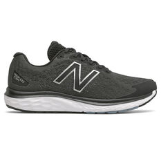 New Balance 680 v7 2E Mens Running Shoes Black US 7, Black, rebel_hi-res
