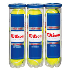 Wilson Tour Competition 4 Ball Pack Yellow, , rebel_hi-res