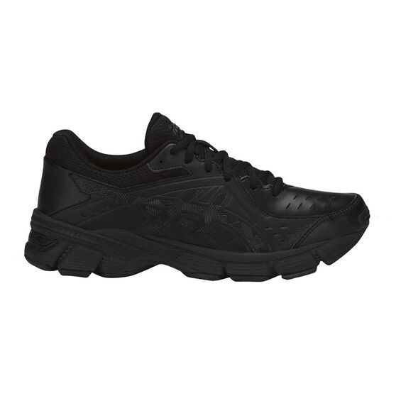 Asics GEL 195TR Leather D Womens Training Shoes, Black, rebel_hi-res