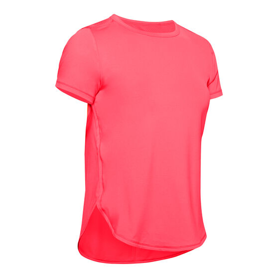 Under Armour Womens Armour Sport Crossback Tee, Red, rebel_hi-res
