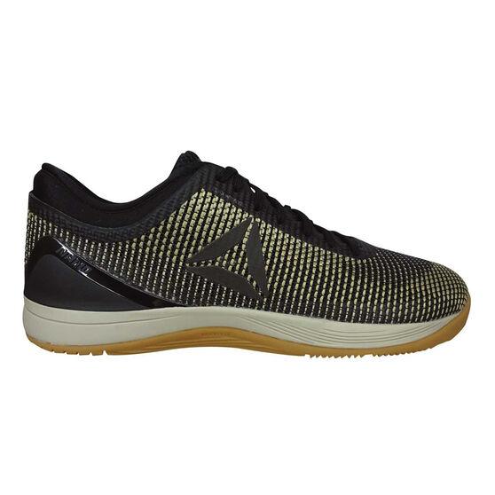 Reebok Crossfit Nano 8.0 Flexweave Mens Training Shoes Black / Beige US 7, Black / Beige, rebel_hi-res