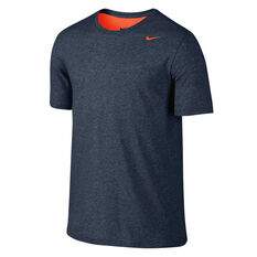 Nike Mens Dry Training Tee Blue / Red S, Blue / Red, rebel_hi-res