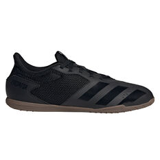 adidas Predator 20.4 SALA Indoor Soccer Shoes Black US Mens 7 / Womens 8, Black, rebel_hi-res