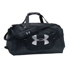 Under Armour Undeniable 3.0 Medium Duffel Bag Black / Silver, , rebel_hi-res