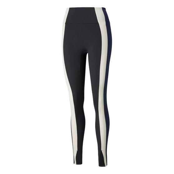 Puma Womens Forever Luxe High Waisted Tights, Black, rebel_hi-res