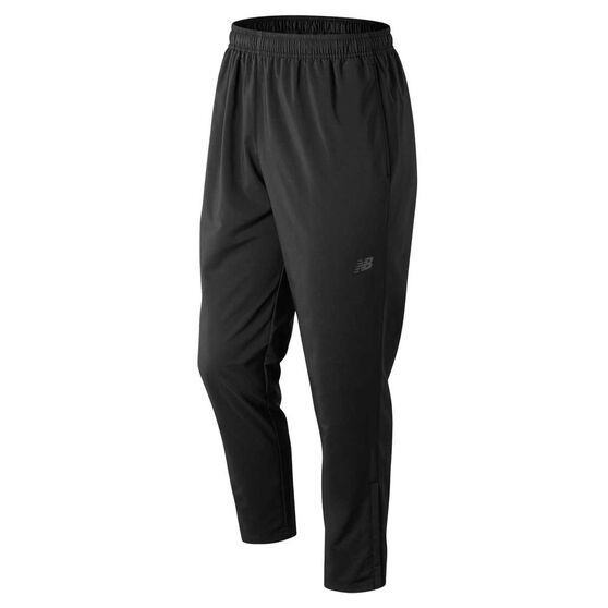 New Balance Mens Core Woven Pants, Black, rebel_hi-res