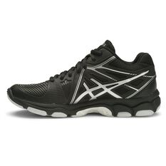 best sneakers 45a84 7e2c9 ... Asics Gel Netburner Ballistic MT Womens Netball Shoes Black / Silver US  6, Black /