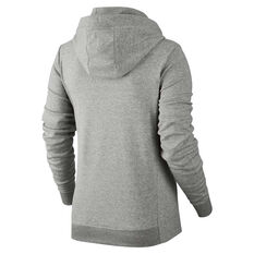 Nike Womens Sportswear Hoodie Grey / White XS Adult, Grey / White, rebel_hi-res