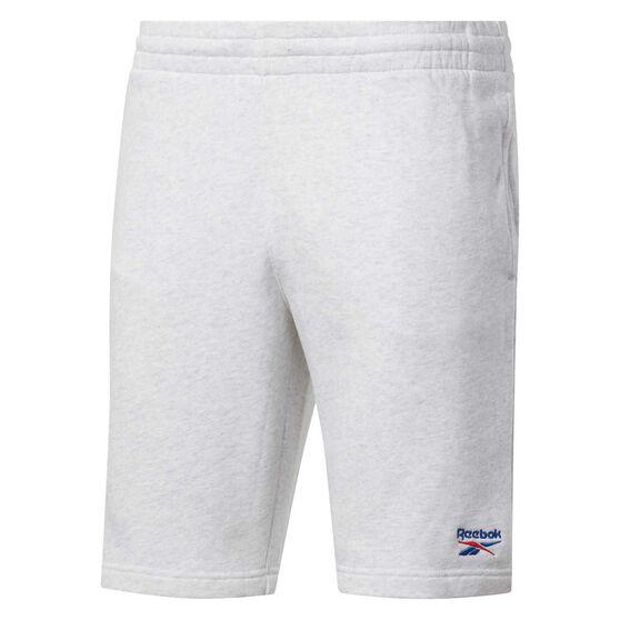 Reebok Classics Mens Vector Shorts, White, rebel_hi-res