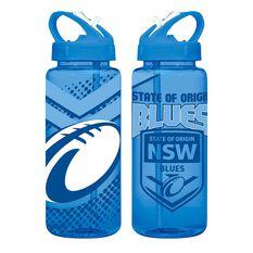 NSW Blues State Of Origin Tritan Water Bottle 700ml, , rebel_hi-res
