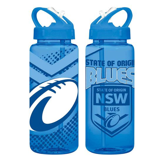 NSW Blues State Of Origin Tritan Water Bottle 700ml, , rebel_hi-res