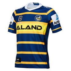 Parramatta Eels 2019 Mens Home Jersey Green S, Green, rebel_hi-res