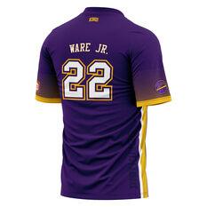 Sydney Kings Casper Ware Jr. Mens Shooting Tee Purple XS, Purple, rebel_hi-res