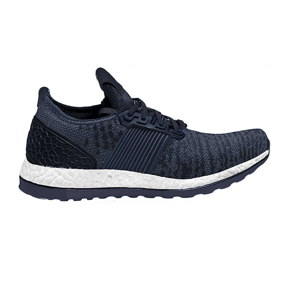 bb44a2526f3da adidas Pureboost ZG Mens Running Shoes Navy   White US 7