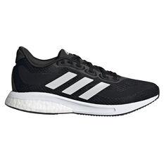 adidas Supernova Kids Running Shoes Black/White US 4, Black/White, rebel_hi-res