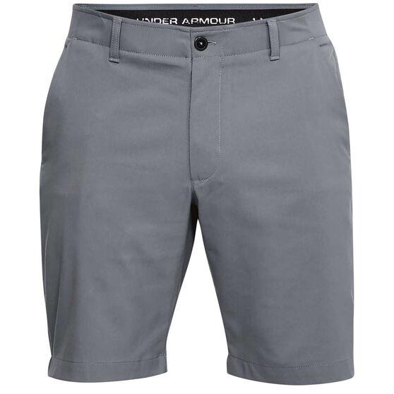 Under Armour Mens Showdown Golf Shorts, Grey, rebel_hi-res