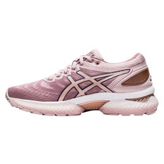 Asics GEL Nimbus 22 Womens Running Shoes Pink / Rose Gold US 6, Pink / Rose Gold, rebel_hi-res