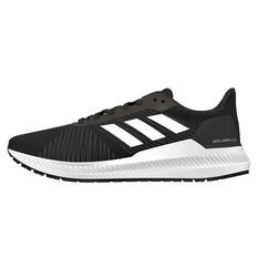 adidas Solar Blaze Mens Running Shoes Black / Grey US 8, Black / Grey, rebel_hi-res