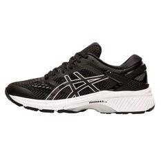 Asics GEL Kayano 26 D Womens Running Shoes Black / White US 6, Black / White, rebel_hi-res