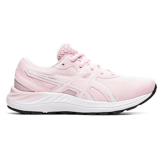 Asics GEL Excite 8 Kids Running Shoes, Pink/White, rebel_hi-res