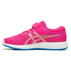 Asics Patriot 11 Kids Running Shoes Pink US 11, Pink, rebel_hi-res