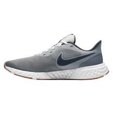 Nike Revolution 5 Mens Running Shoes Grey / Black US 7, Grey / Black, rebel_hi-res