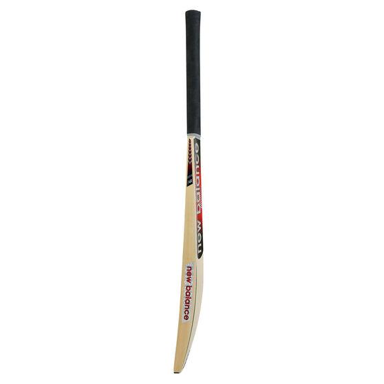 New Balance TC Alpha Junior Cricket Bat, Red/Black, rebel_hi-res