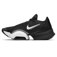 Nike Air Zoom SuperRep 2 Mens Training Shoes Black/White US 7, Black/White, rebel_hi-res